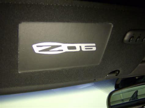 Visor Set Kyt C5 By Adtyastore c6 2006 13 corvette c6 z06 logo sun visor decal cover set