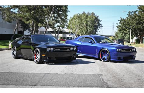 ts design 2 widebody challengers by ts designs cars zone