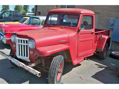Willys Jeep Trucks For Sale 1960s Willys Jeep Truck For Sale Autos Weblog