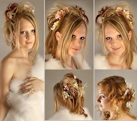 Brautfrisuren Halblange Haare by Hochzeitsfrisuren Halblange Haare