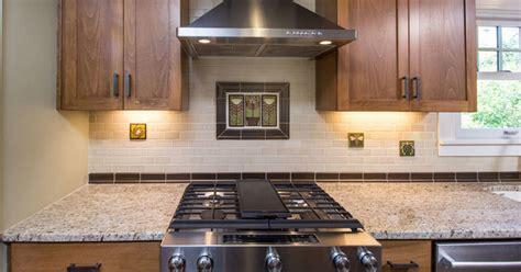 motawi tile backsplash motawi accent tiles kitchen remodel craftsman kitchen