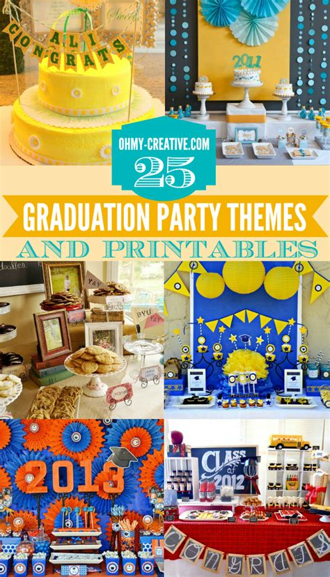 event ideas 25 graduation themes ideas and printables