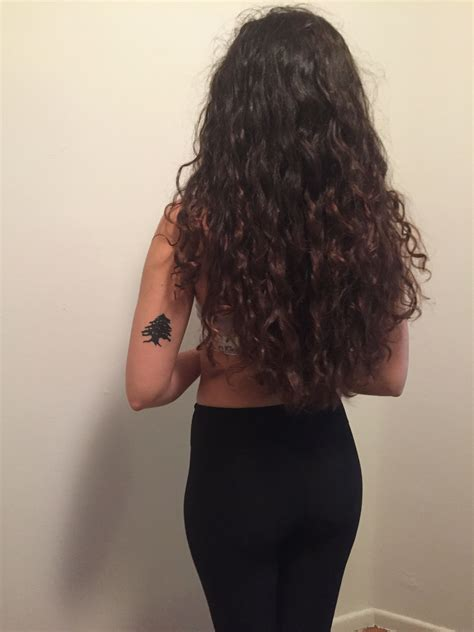 lebanon tattoo lebanese cedar arabic arab lebanon curly hair curls