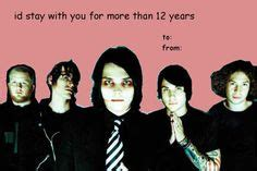 my chemical valentines cards pin by matheson on mcr