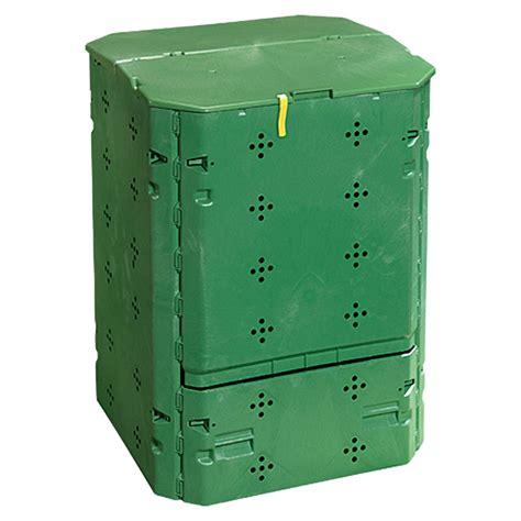 bauhaus komposter im garten gardol komposter 214 komax 6000 600 l 77 x 77 x 100 cm
