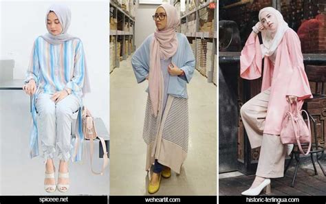 trend fashion hijab casual  tutorial hijab terbaru