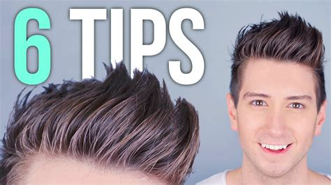 hairstyles that make guys like you 6 tips for styling tall hair men s hairstyles youtube
