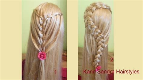 how to feather braid feather braid waterfall braid feather waterfall braid