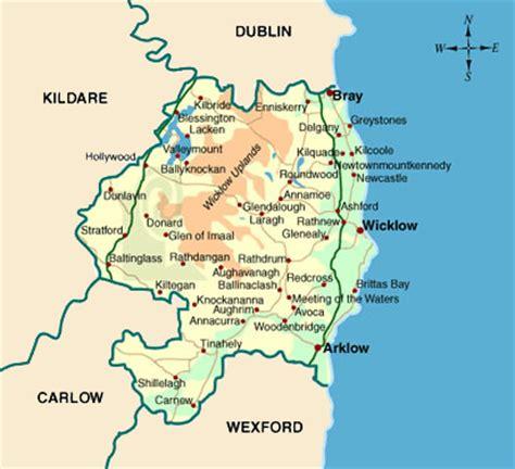 Dublin Google Office map of county wicklow local enterprise office wicklow