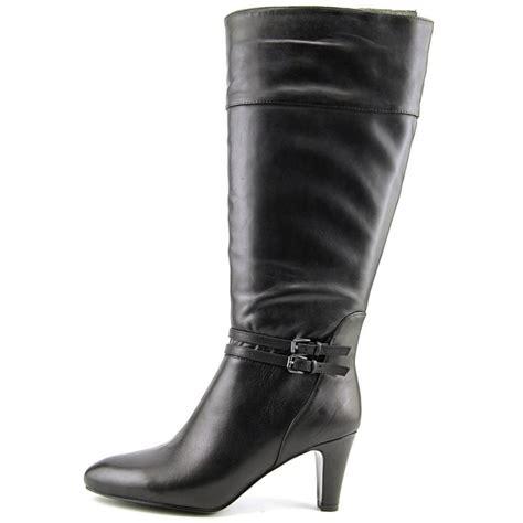 bandolino bandolino wiser wide calf suede black knee