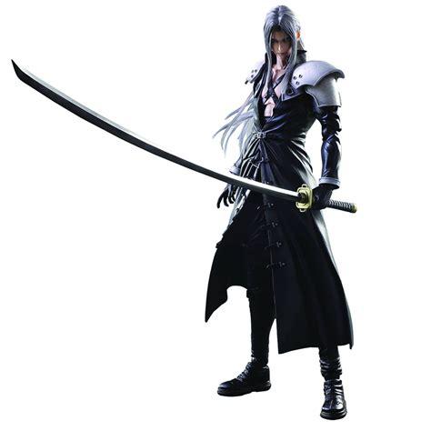 Play Arts Kingdom Hearts Cloud Strife Sephiroth Figure estarland buy play arts sephiroth