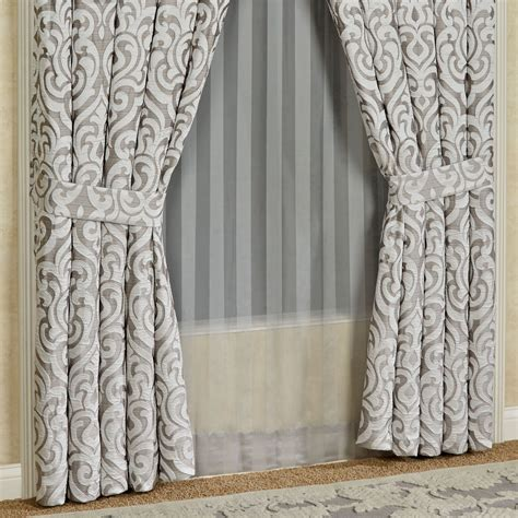 j queen curtains babylon scroll window treatment by j queen new york