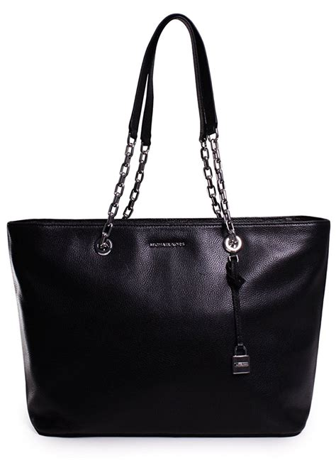 Tas Michael Kors Original Mk Mercer Chain Tote Burnt michael kors mercer medium chain link leather tote black 30h6sm9t9l 001 ebay