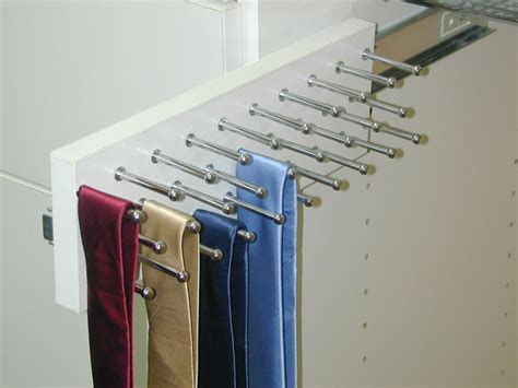 Closet Pull Rack by Slide Out Tie Rack Closet Houston By Spaceman Home