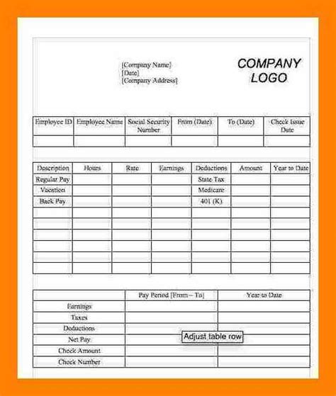5 1099 Pay Stub Template Excel 3canc 1099 Template Excel