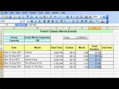 tutorial excel for beginners microsoft excel tutorial for beginners 23 date time
