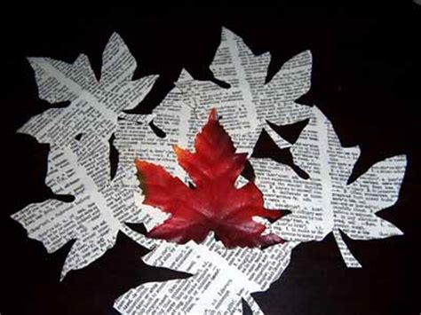 fall paper craft ideas fall leaves of paper festive fall decorating ideas