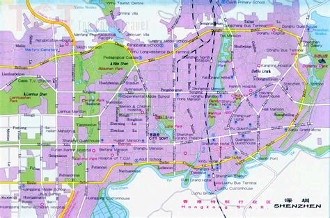 Top 10 Places To Visit In Us by Shenzhen Maps Map Of Shenzhen China Shenzhen Tourist