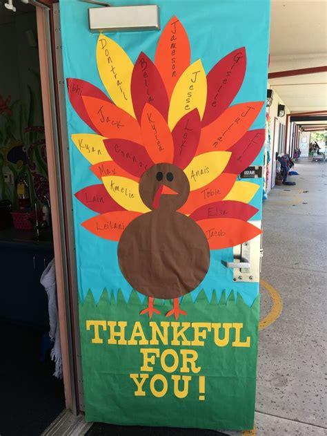 thanksgiving door decorations best 25 fall classroom door ideas on