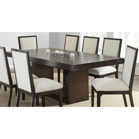 dining table espresso greyson living amia espresso dining table with removable