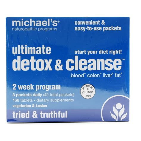 Detox Cleanse Kits Reviews by Michael S Ultimate Detox And Cleanse 1 Kit Evitamins