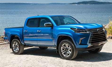 Toyota Tacoma Truck Toyota Tacoma Truck Wearing Lexus Lx S Makes