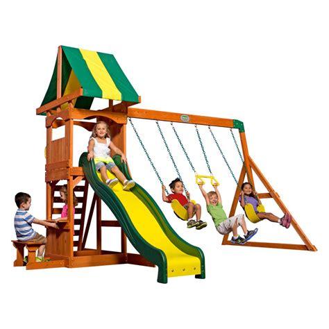 weston backyard discovery backyard discovery weston all cedar playset 65113com the