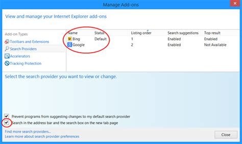 how can i remove bing from internet explorer 9 makeuseof add remove bing search bar from ie new tab page