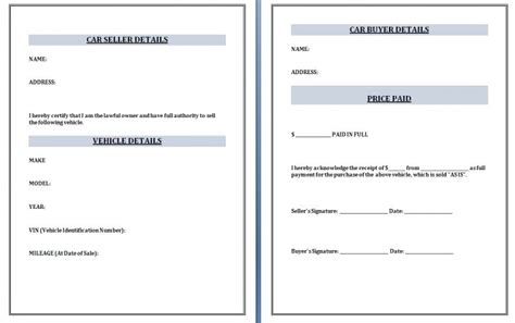 car purchase receipt template uk vehicle purchase receipt template kinoroom club