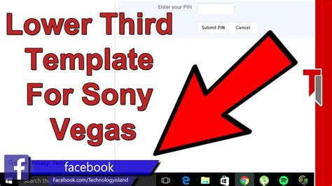 free flat lower third template for sony vegas pro lower third template green screen lower third template