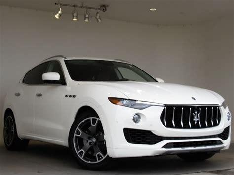 Maserati Suv For Sale by 2017 Maserati Levante Suv For Sale At Mike Ward Maserati
