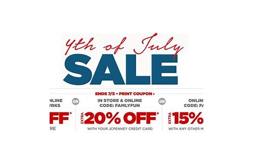 jcpenney 4th of july printable coupons