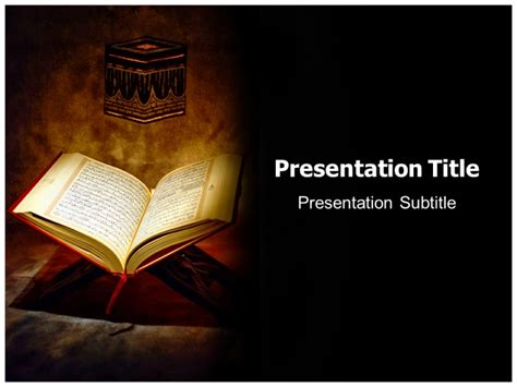 Powerpoint Templates Free Download Islamic Images Islamic Powerpoint