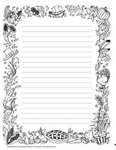 free stationery paper templates coloring designs bordr stationery paper templates