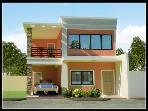 2 story home designs architecture two storey house designs and floor affordable two story house plans from home