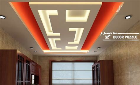 cool modern false ceiling designs  living room