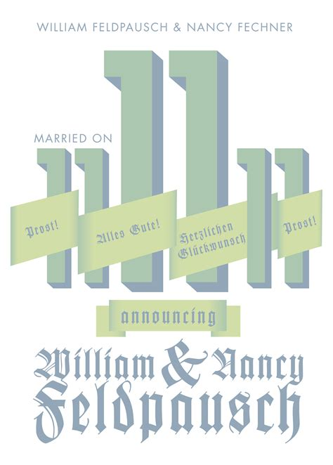 Wedding Announcement By And Groom by Invitations On Behance