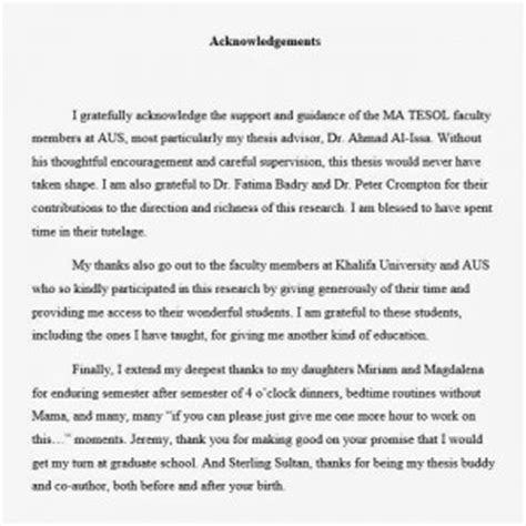 thesis acknowledgement sle friends quotes about acknowledgement quotesgram