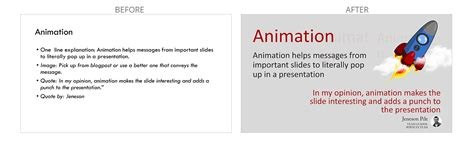 before and after template visual makeover of presentations level 3 powerpoint
