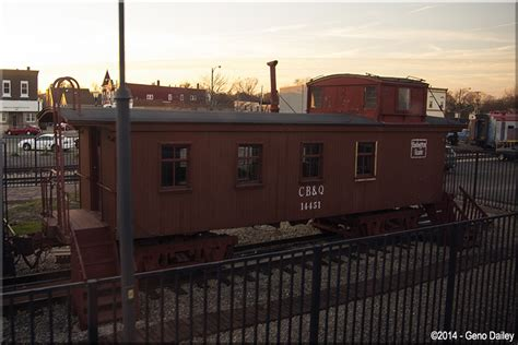 former chicago burlington quincy caboose 14451 is also