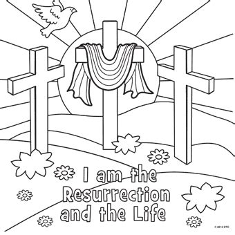 easter coloring pages for church resurrection free n easter from trading