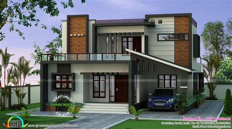 modern home design cost march 2017 kerala home design and floor plans