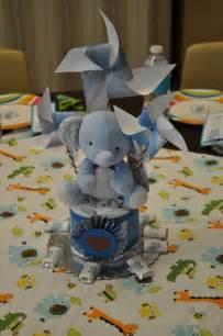 elephant centerpiece baby elephant
