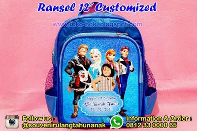Tas Ulang Tahun Anak Murah Kantong 6 souvenir ulang tahun anak murah ransel 12 quot customized
