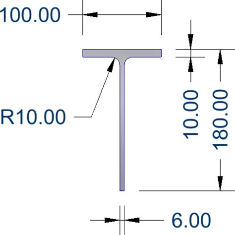 aluminium tee section sizes extrusions