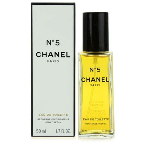 Chanel No 5 Eau De Toilette chanel n 176 5 eau de toilette pour femme 50 ml recharge