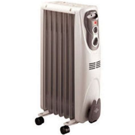 pelonis portable oil filled electric radiator heater wm