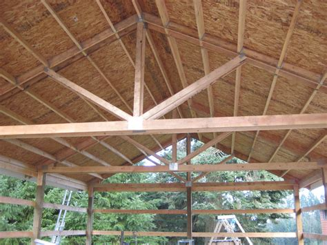 pole barn truss design the home design aesthetic yet fully functional pole barn designs