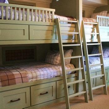 Loft Bed Outfitters Built In Bunk Beds Country Boy S Room Alder And Tweed