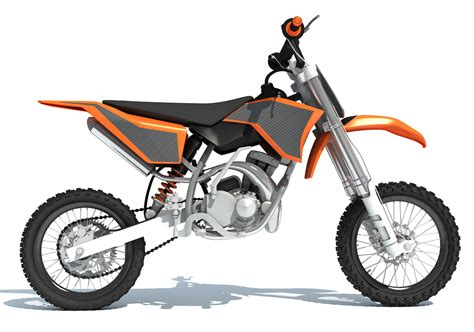 Motocross Bike 3d Model Turbosquid 1247026